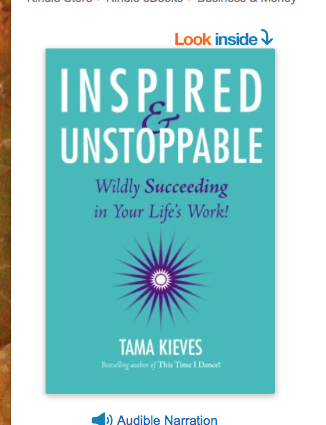 Image for Inspired and Unstoppable by Tama Kieves