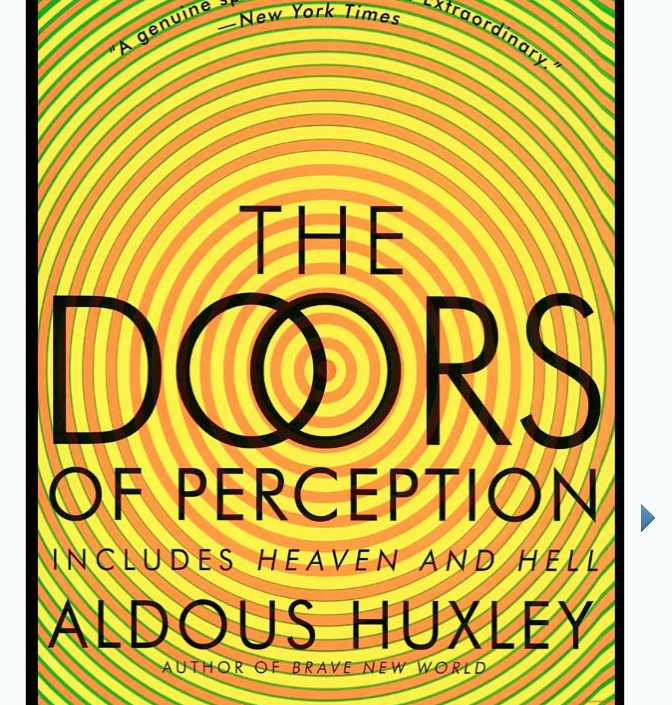 Image for The Doors of Perception by Aldoux Huxley