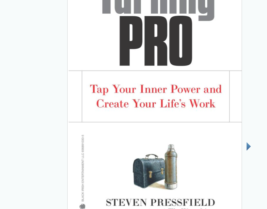 Image for Turning Pro by Steven Pressfield