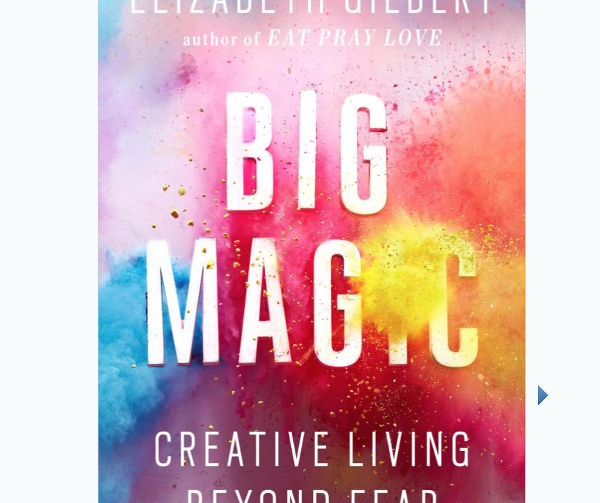 Image for Big Magic by Elizabeth Gilbert