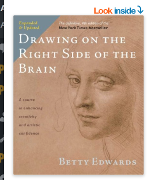 Image for Drawing on the Right Side of the Brain by Betty Edwards
