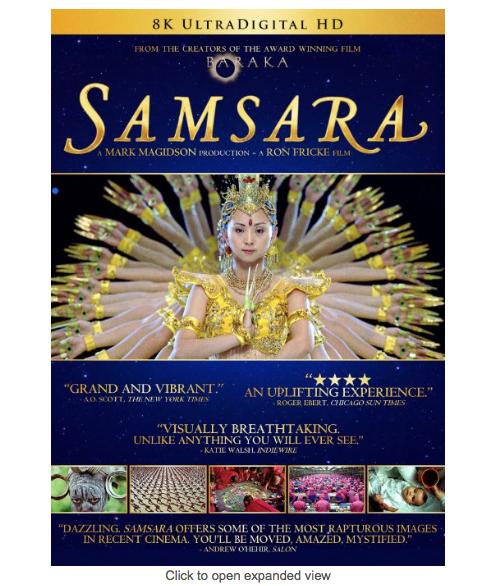 Image for Samsara Documentary
