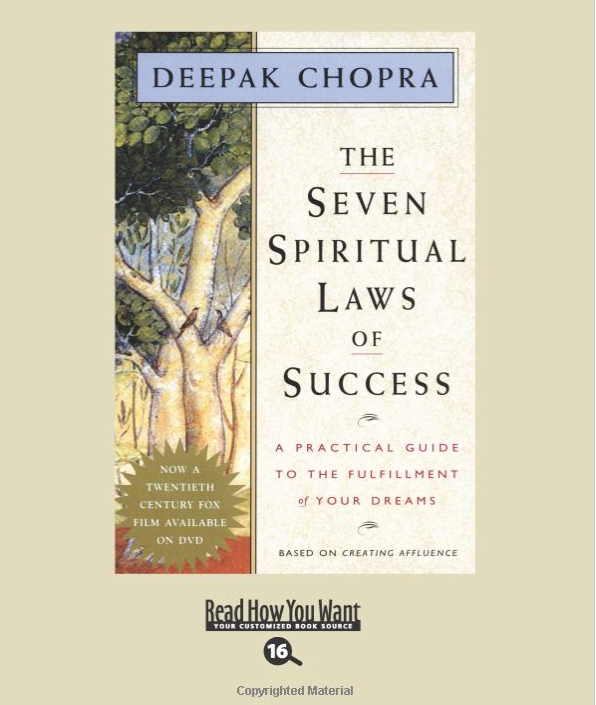Image for The Seven Spiritual Laws by Deepak Chopra