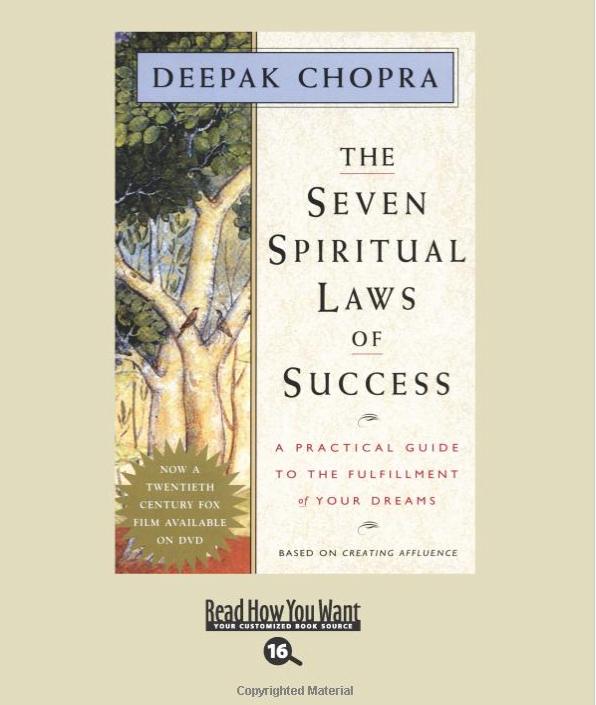 Image for The Seven Spiritual Laws by Deepak Chopra