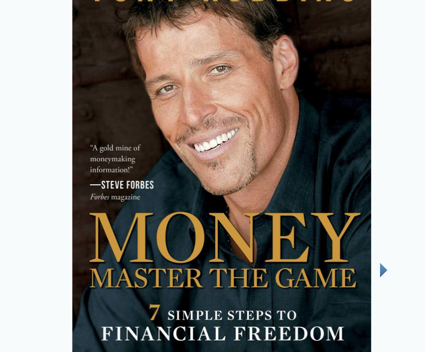 Image for Money by Tony Robbins