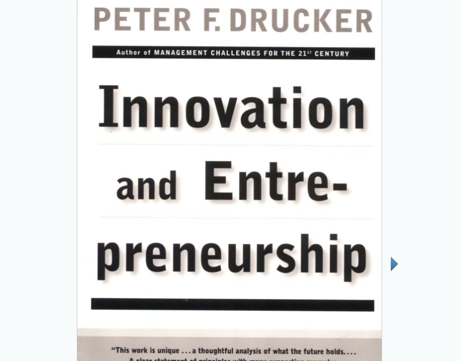 Image for Innovation and Entrepreneurship by Peter Drucker