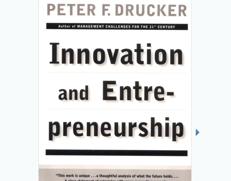 Image for Innovation and Entrepreneurship by Peter Drucker