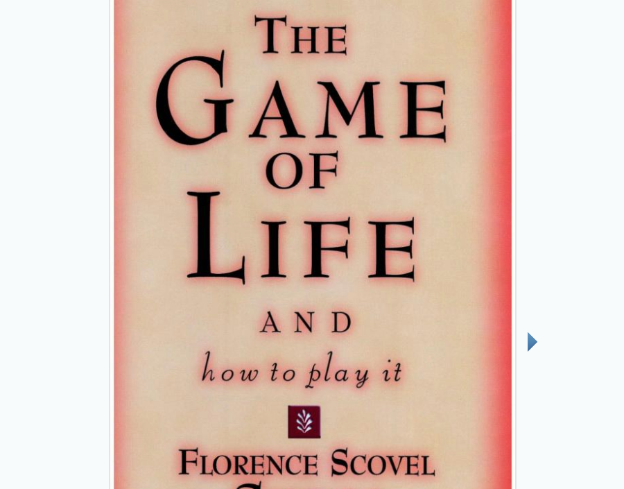 Image for The Game of Life by Florence Scovel Shinn