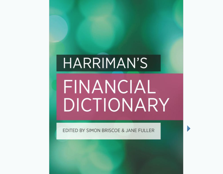 Image for Harriman's Financial Dictionary by Simon Briscoe