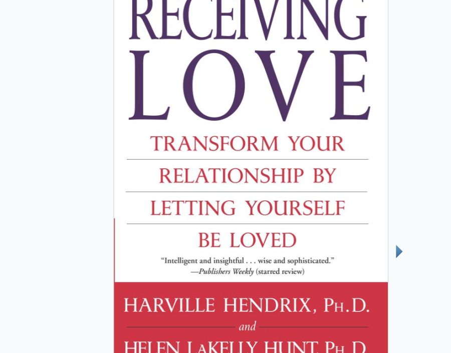 Image for Receiving Love by Harville Hendrix Phd