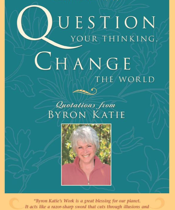 Image for Question Your Thinking Change the World by Byron Katie
